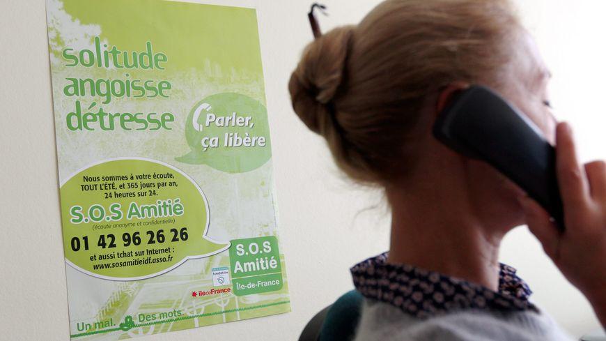 SOS Amitié prend les appels 24h/24 et 7 jours sur 7.