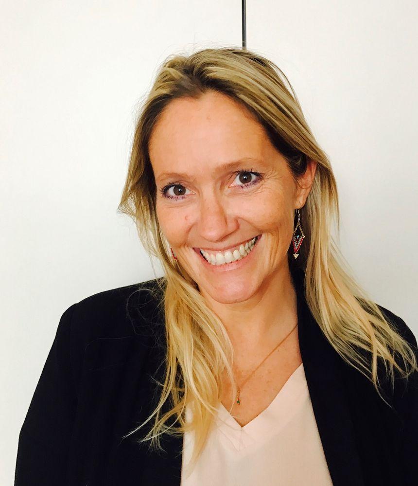Marion Le Blond, directrice de la communication de l'EFS de Bourgogne-Franche-Comté