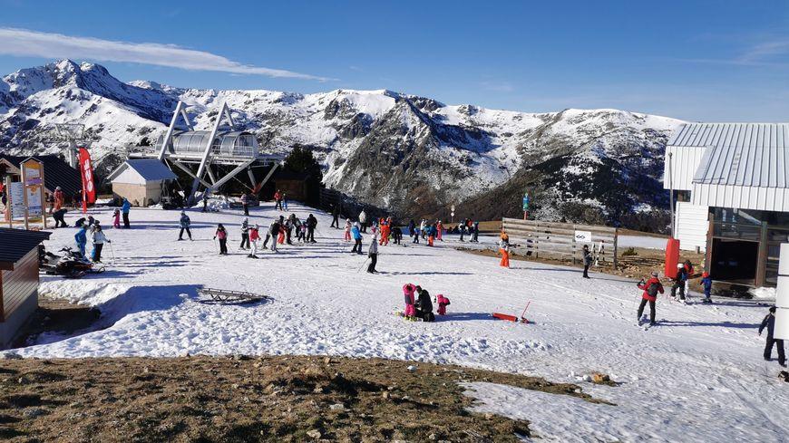 Il faut monter à 1.800 m pour trouver le manteau neigeux