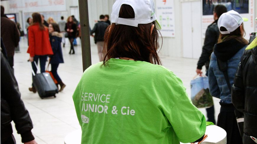 Le service Junior et Cie de la SNCF (illustration).