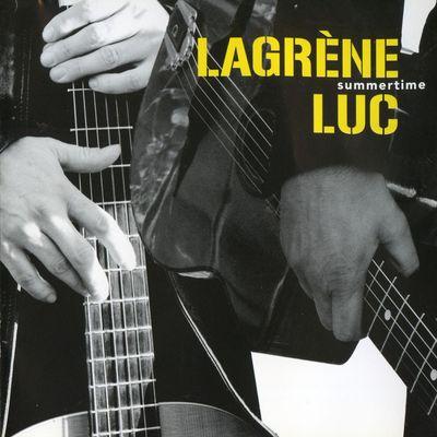 """Pochette de l'album """"Summertime"""" par Bireli Lagrene"""