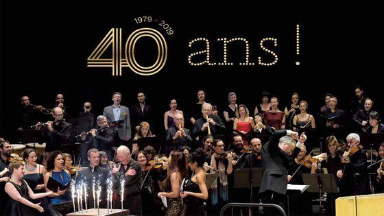 Les Arts Florissants fêtent leurs 40 ans !