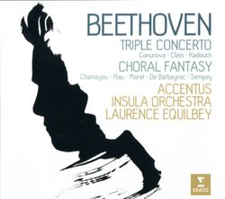 Triple concerto pour violon violoncelle et piano en Ut Maj op 56 : 3. Rondo alla polacca - DAVID KADOUCH