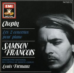 Concerto nº2 en fa min op 21 pour piano et orchestre : Larghetto - SAMSON FRANCOIS