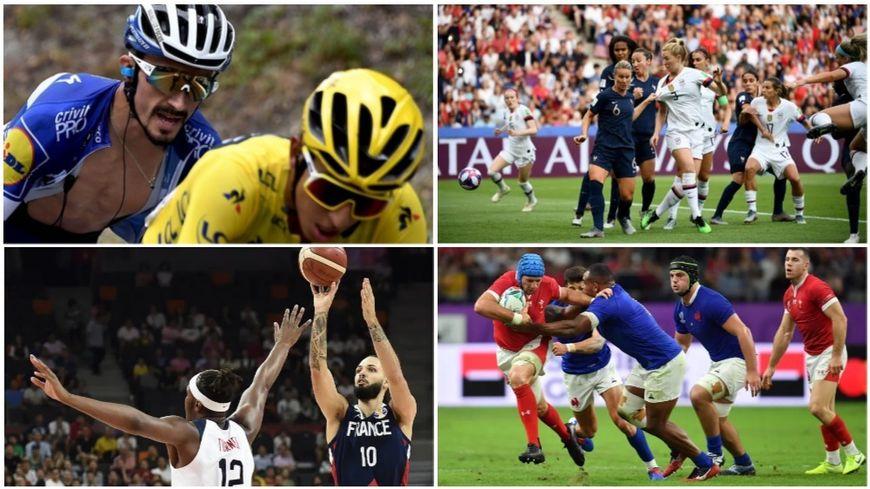 Tour de France, foot, rugby, basket : avez-vous bien suivi l'actualité sportive en 2019 ?