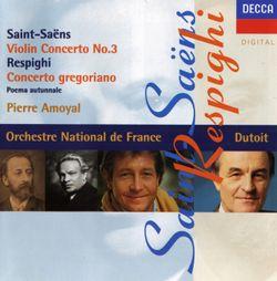 Poeme automnal / Pour violon et orchestre - PIERRE AMOYAL