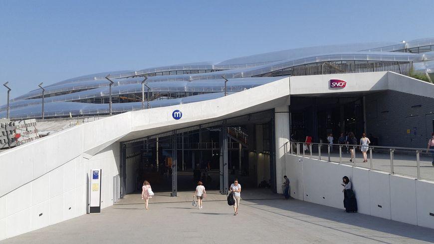 la nouvelle gare SNCF de Rennes