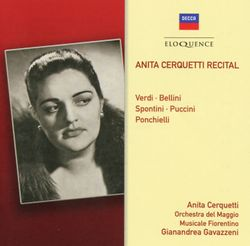 I vespri siciliani : Merce dilette amiche (Acte V) Air d'Elena - ANITA CERQUETTI
