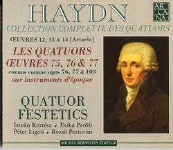 QUATUOR A CORDES EN RE MIN OP 76 Nº2 HOB III : 76 : ANDANTE - Quatuor Festetics