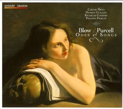 Ode on the death of Mr Henry Purcell - pour 2 hautes-contres 2 flûtes à bec et basse continue - CARLOS MENA