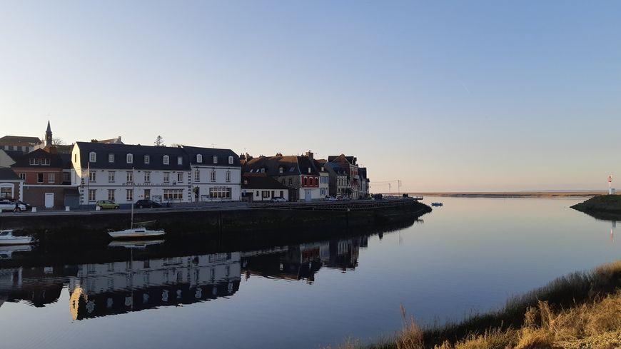 St Valery-sur-Somme sur la digue Nord