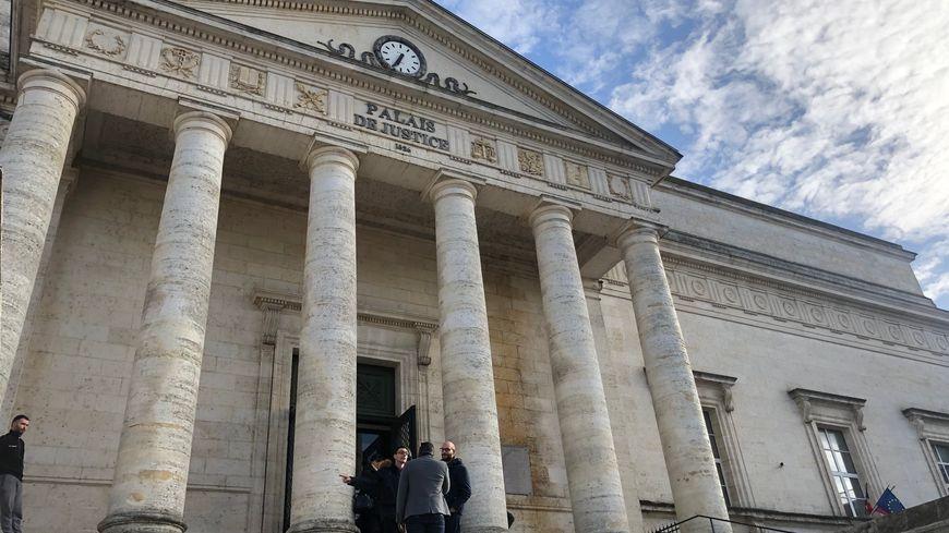 Le tribunal correctionnel d'Angoulême, en Charente.