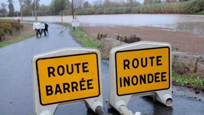 Encore onze routes coupées ce dimanche 22 décembre dans les Landes suite aux inondations et aux intempéries