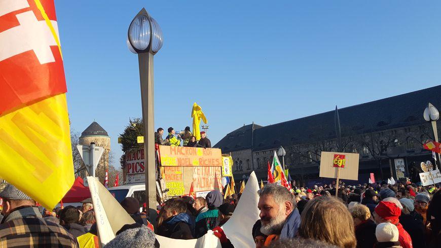 De nouvelles manifestations sont prévues, après le cortège du 5 décembre qui avait rassemblé 7.000 personnes à Metz