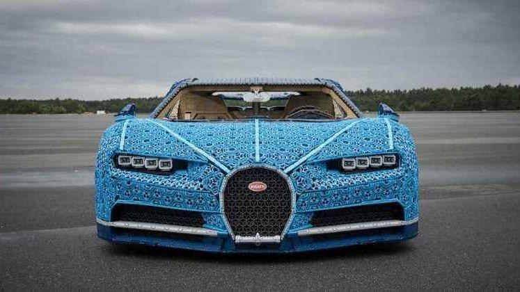 La Bugatti Chiron à l'Echelle :1 en Lego