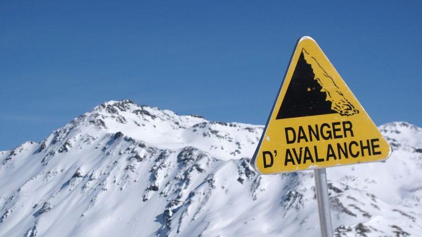 Illustration danger avalanche.