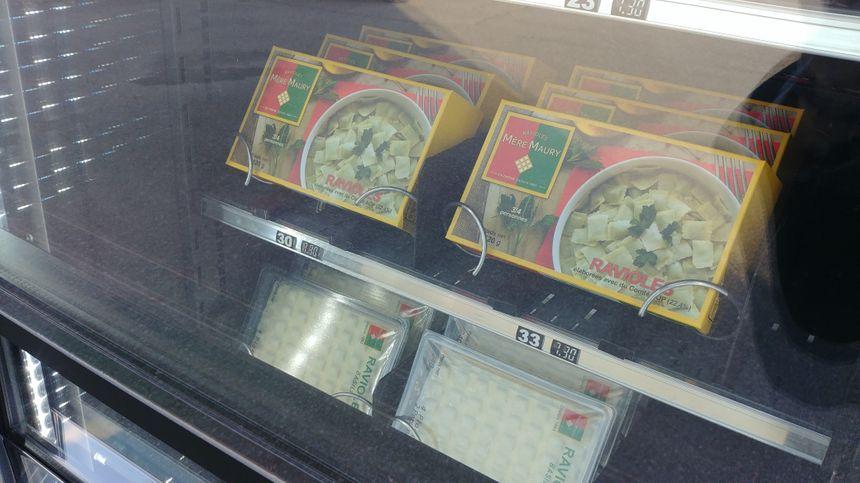 Le nouveau distributeur de ravioles de Mours-Saint-Eusèbe.
