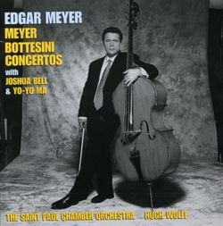 Double concerto : Mouvement 1 - pour violoncelle contrebasse et orchestre - EDGAR MEYER