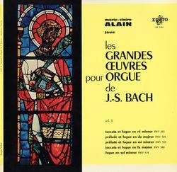 Toccata et fugue en ré min BWV 565 - MARIE CLAIRE ALAIN