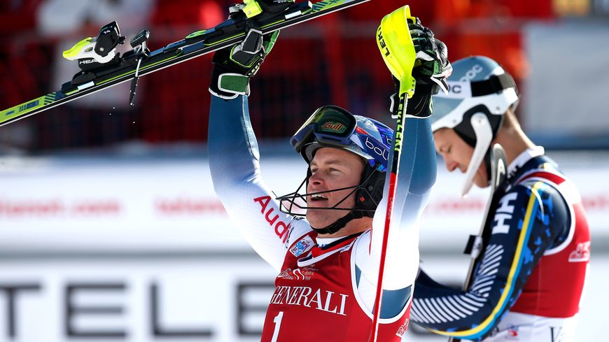Alexis Pinturault a remporté dimanche sa quatrième victoire à Val d'Isère