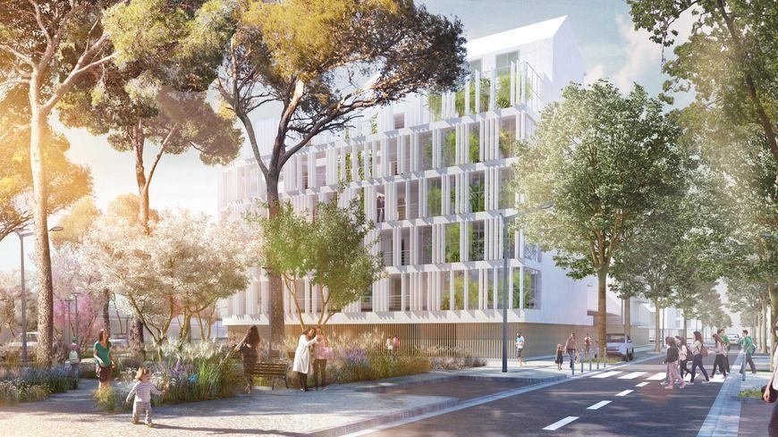 Les « Passerelles de la Garonne » : Un projet d'aménagement urbain construit en bord de Garonne  imaginé par l'architecte Patrick Chavannes