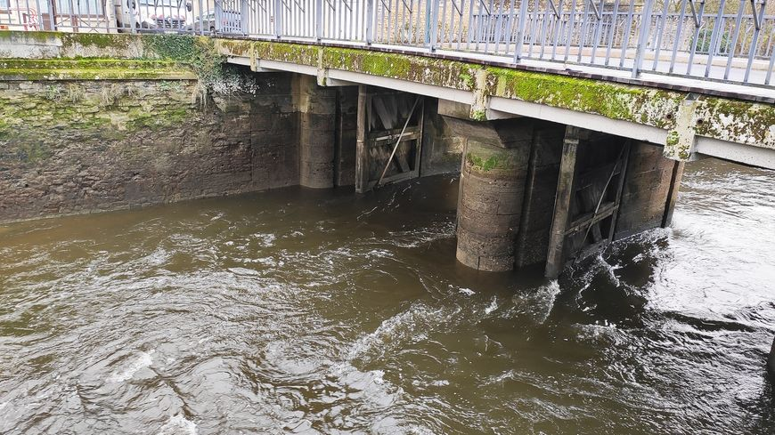 Portes à flots d'Isigny-sur-Mer, rue de la Vallée de l'Aure