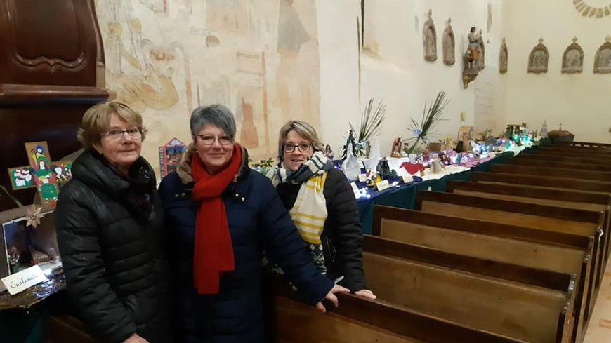 Une expo de crèches à travers le monde, dans l'église de St Denis du Maine.
