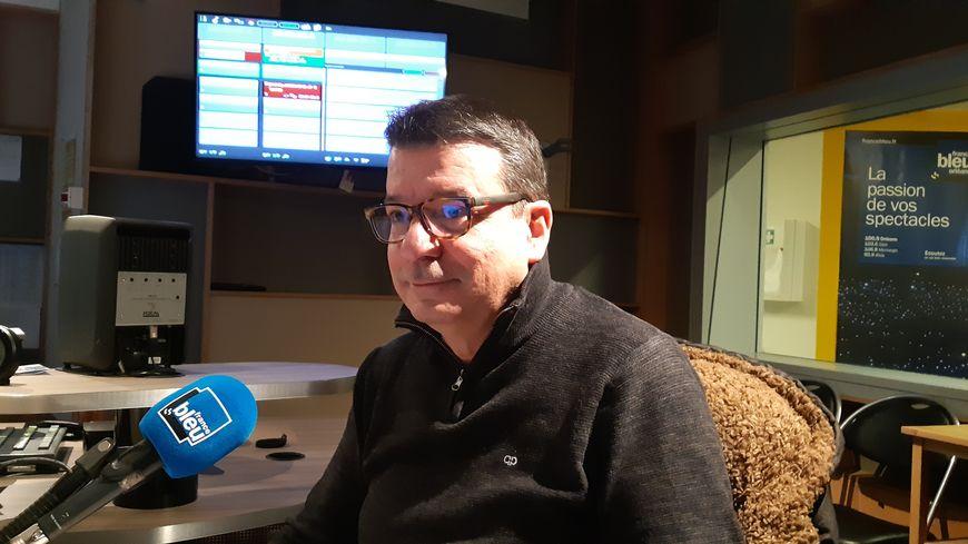 Gilles Lory, le secrétaire régional de la CFDT Centre Val de Loire
