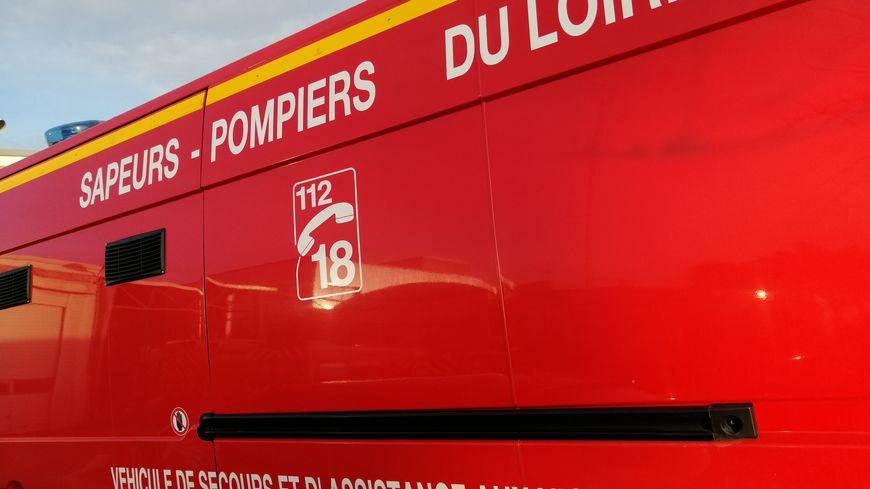 Véhicule des pompiers du Loiret