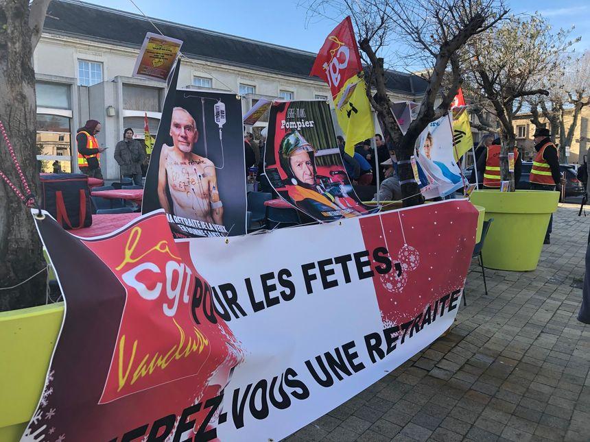 """""""Pour les fêtes, offrez-vous une retraite"""", le tube de l'hiver pour la CGT du Vaucluse"""