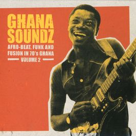 "Pochette de l'album ""Ghana soundz / Afro-beat funk fusion in 1970's Ghana / Vol.2"" par The Ogyatanaa Show Band"