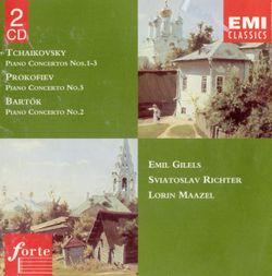 Concerto pour piano n°1 en si bémol min op 23 : III Allegro con fuoco - EMIL GILELS