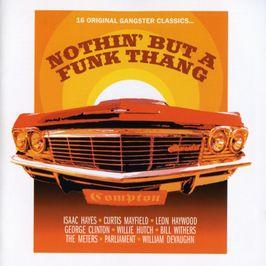 "Pochette de l'album ""Nothin' but a funk thang"" par Bernard Wright"
