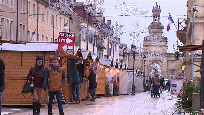 Pontarlier commerce centre-ville