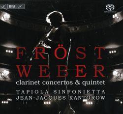 Concerto n°1 en fa min op 73 : Rondo : Allegretto / Pour clarinette et orchestre - Martin Frost