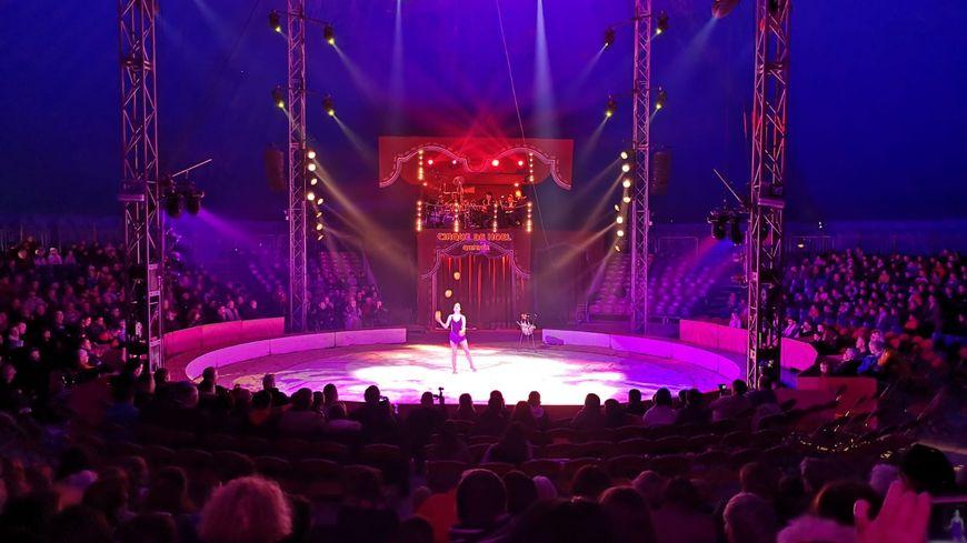 Le cirque de Noël est une tradition de la fin d'année à Quimper.