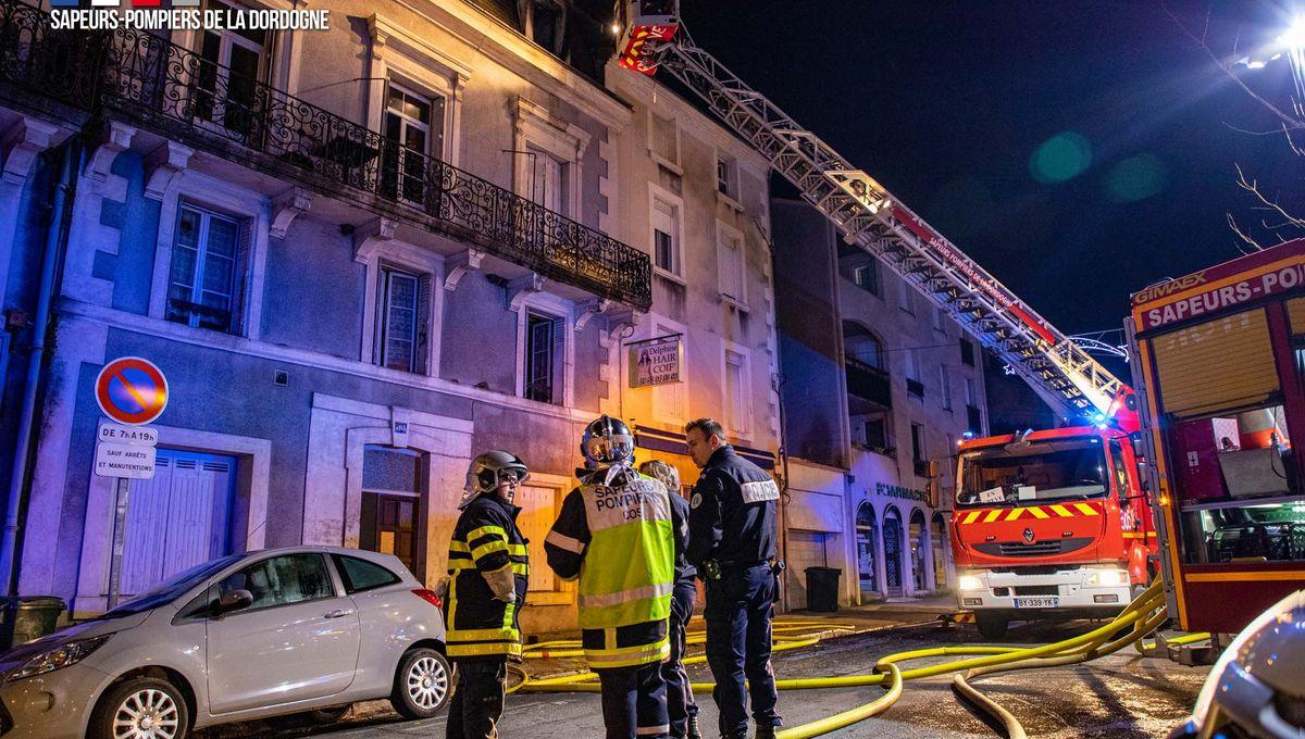 Un homme blessé dans le feu de son appartement à Périgueux