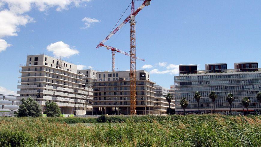 Le projet d'habitat collaboratif doit voir le jour sur un îlot réservé de 1.500 m2 dans le quartier Port Marianne, en pleine expansion à Montpellier