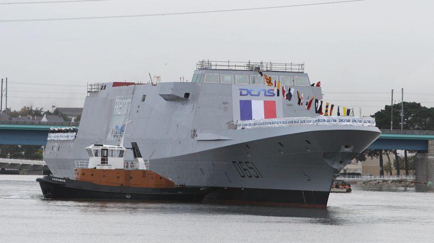 Les marins à bord de la FREMM Normandie sont en mission jusqu'en mars