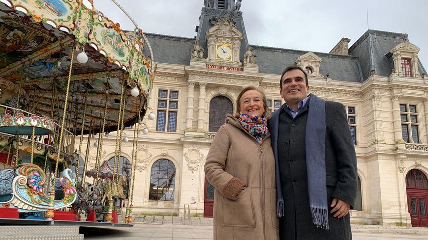 Jacqueline Daigre et Thierry Alquier