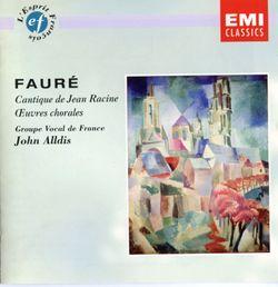 Cantique de Jean racine op.11 / Pour choeur mixte et orgue - FRANCOIS HENRI HOUBART