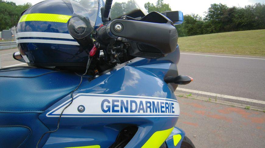Il a été arrêté par les motards de la gendarmerie (illustration).