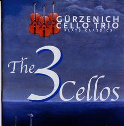 Variations en Ut Maj sur Là ci darem la mano de Don Giovanni de Mozart WoO 28 : Variation n°1 - pour 3 violoncelles - TRIO GURZENICH