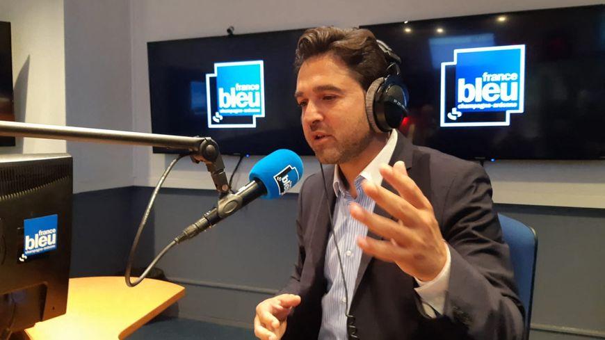 Arnaud Robinet, maire Les Républicains de Reims.