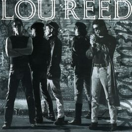 "Pochette de l'album ""New york"" par Lou Reed"