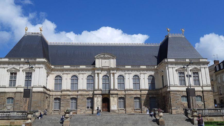 Le parlement de Bretagne à Rennes, siège de la Cour d'appel