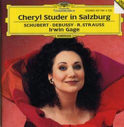 Gretchen am spinnrade op 2 d 118 - pour soprano et piano - CHERYL STUDER