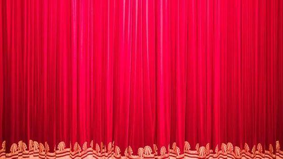 rideau de scène