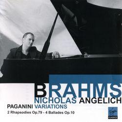 Ballade en ré min op 10 n°2 pour piano - NICHOLAS ANGELICH