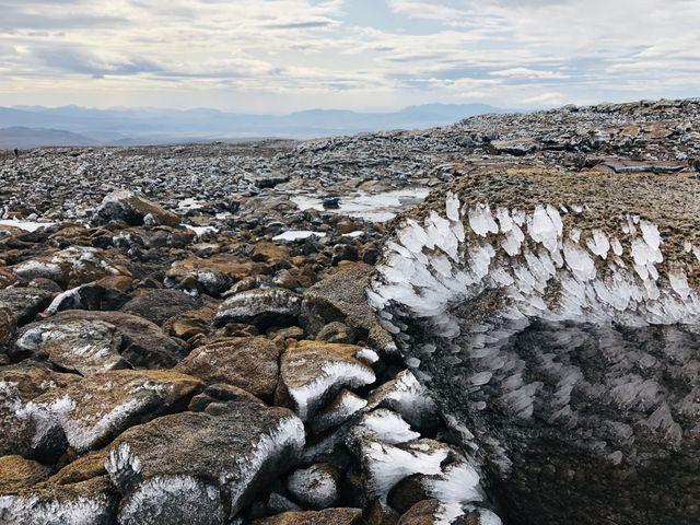 Au sommet du volcan OK, le glacier Okjökull a fondu